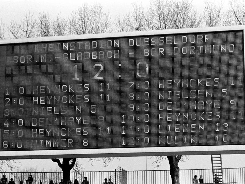 Gladbach überrollt Dortmund