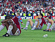 Der FC Bayern ist nach dem Aus in der Champions League entt�uscht
