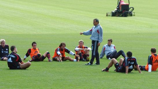 FCB-Trainer Felix Magath