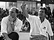 Uli Hoene� und Jupp Heynckes