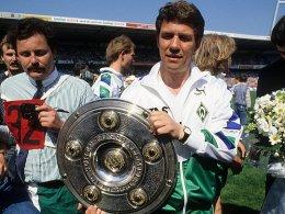 Legte 1988 das Image des ewigen Zweiten ab: Werders Trainerikone Otto Rehhagel.