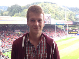 Jonas Schmidt (17) berichtet vom Bundesligaspiel zwischen Freiburg und Nürnberg.