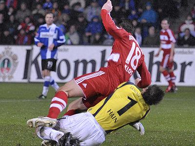 Miroslav Klose gegen Mathias Hain