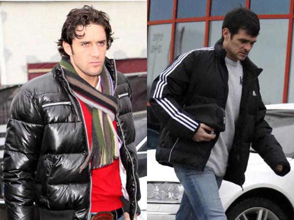 Luca Toni (li.) & Willy Sagnol