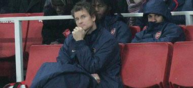 Arsenal-Keeper Jens Lehmann