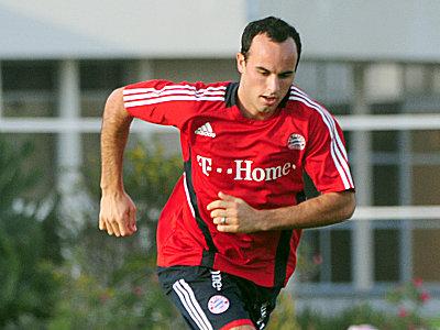 Fußball, Bayern München: Landon Donovan