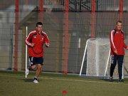 Lukas Podolski beim Aufbautraining. Eine Entscheidung über seine sportliche Zukunft ist mittlerweile gefallen.