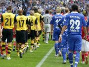 Diesmal am Freitagabend: Schalke gegen Dortmund.