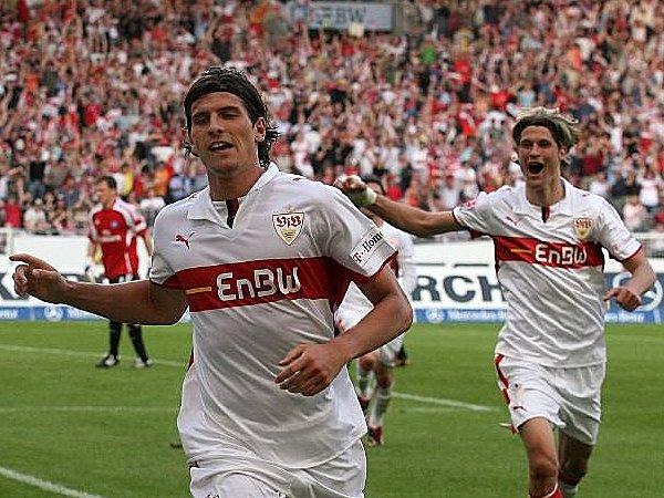 VfB Stuttgart: Mario Gomez und Martin Lanig