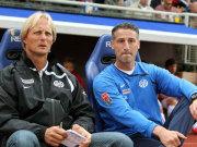 Sie müssen ihren Platz räumen, noch ehe die Saison richtig beginnt: Jörn Andersen und Jürgen Kramny.