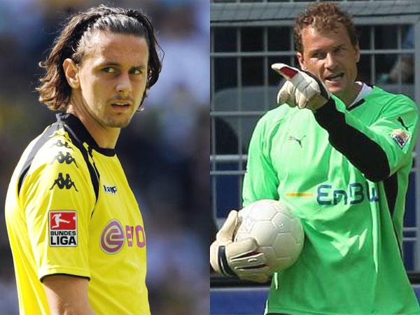 Fußball, Bundesliga: Gegen Neven Subotic von Borussia Dortmund und Jens Lehmann vom VfB Stuttgart ermittelt der DFB.
