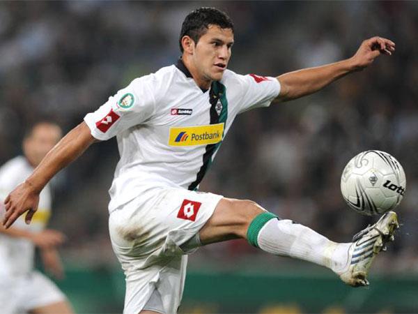 Fußball, Bundesliga: Gladbachs bester Stürmer Raul Bobadilla.