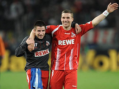 1. FC Köln: Zoran Tosic und Lukas Podolski