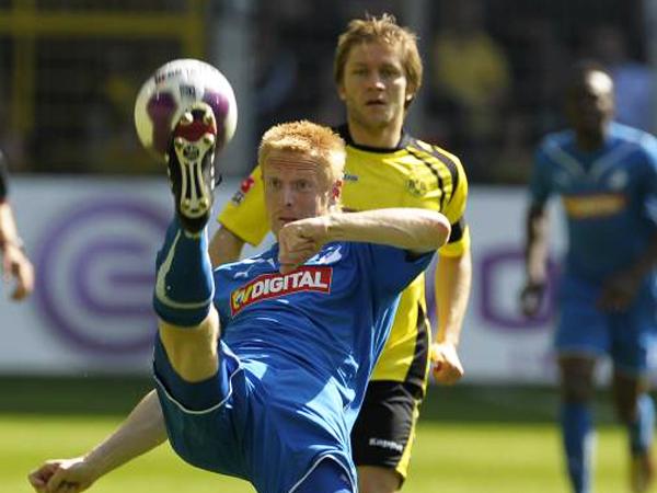 Letztes Saisonspiel: Hoffenheims Andreas Ibertsberger erlitt gegen Dortmund einen Rippenbruch.