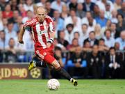Überwältigende Mehrheit: Arjen Robben wurde von den Kollegen zum Spieler der Saison gekürt.