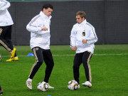Fußball, Nationalmannschaft: Michael Ballack und Philipp Lahm