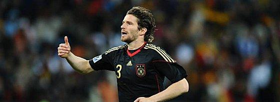 Bei der WM spielte sich Arne Friedrich wieder in den Vordergrund.
