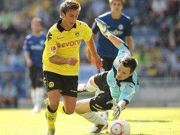 Mario Götze, Borussia Dortmund (re. Eilhoff)