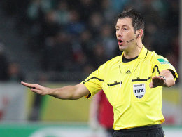 FIFA-Schiedsrichter Wolfgang Stark