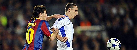 Linoel Messi und Zdenek Pospech