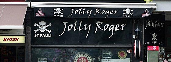 St. Paulis Fan-Kneipe Jolly Roger