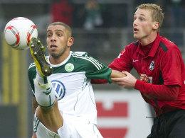 Ashkan Dejagah gegen Felix Bastians (re.)