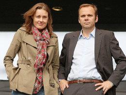 Katja Kraus und Bernd Hoffmann