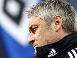 Armin Veh gibt seinen Trainerjob beim HSV am Saisonende auf.