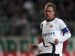Spielführer: Patrick Ochs trägt (auch) künftig die Kapitänsbinde bei Eintracht Frankfurt.