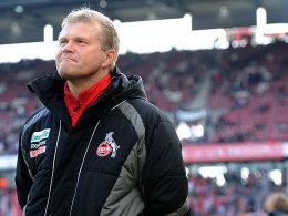 Kölns Trainer Frank Schaefer.