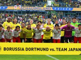 Guter Zweck: Der BVB und das Team Japan spielten zugunsten der Erdbebenopfer des asiatischen Landes.