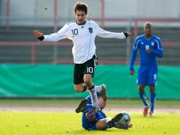 Schmächtig, aber hochbegabt: U-20-Spielmacher Lukas Rupp vom Karlsruher SC.