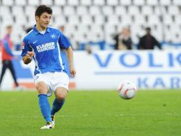 Geburtstagsgeschenk: Der nun 19-jährige Matthias Zimmermann wechselt vom KSC in die Bundesliga nach Gladbach.