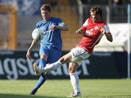 Christian Beisel gegen Florian Heller