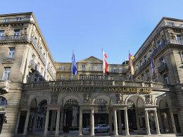 Hier wurde die Zukunft des deutschen Fußballs verhandelt: Das Hotel Frankfurter Hof.