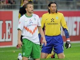 Lukas Schmitz und Tim Wiese
