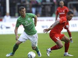 Ein Treffer von Markus Rosenberg gegen Olympiakos war am Ende zu wenig für den Sieg.