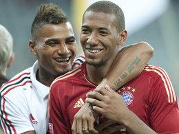 Kevin-Prince und Jerome Boateng