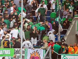 Tumulte im Werder-Block