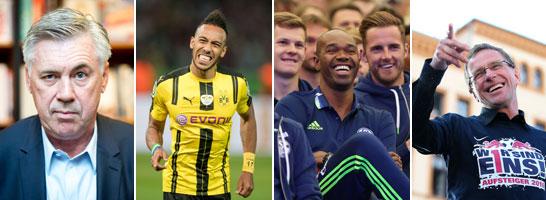 Neues Spiel - neues Gl�ck? Wer landet wo in der neuen Bundesliga-Saison?