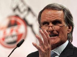 Wolfgang Overath ist seit Sonntagnachmittag nicht mehr Präsident des 1. FC Köln.