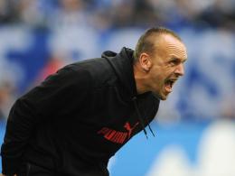 Lautstark: Hoffenheims Trainer Holger Stanislawski weiß, dass viele unnötige Fehler Punkte kosteten.