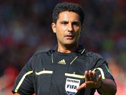 FIFA-Schiedsrichter Babak Rafati