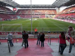 Das Stadion des 1. FC Köln am Samstag