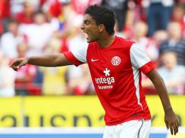 Mit 100 Prozent Einsatz bei der Sache: Sami Allagui drängt zurück ins Mainzer Team.