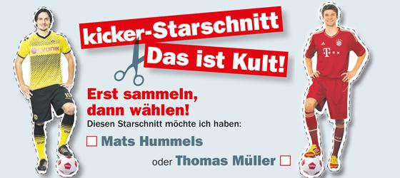 Mats Hummels und Thomas Müller kommen ganz groß raus.