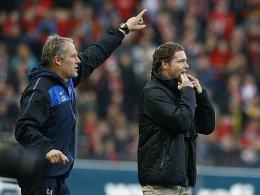 Christian Streich und Marcus Sorg