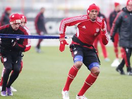 Franck Ribery und Jerome Boateng (re.)