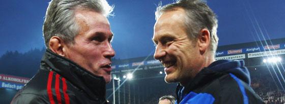 Jupp Heynckes und Christian Streich