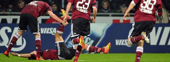 Esswein machte in Bremen den entscheidenden Treffer für Nürnberg.